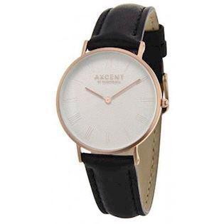 Axcent of Scandinavia Career rosa forgyldt rustfri stål Quartz Unisex ur, model IX5710R-05